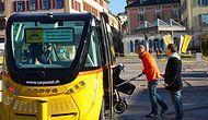 İsviçre 'İşi Büyüttü': Sürücüsüz Otobüsler Test Ediliyor