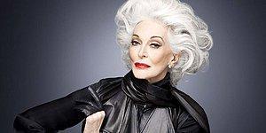 Yaşam Enerjisi ve Güzelliğiyle Büyüleyen 85 Yaşındaki Model Carmen Dell'Orefice