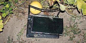 'Akıncı Üssü Yanındaki Tarlada Biri Sağlam 3 Bilgisayar Bulundu'