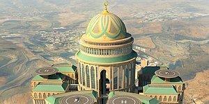 Mekke'de Lüksüyle ve İhtişamıyla Dikkatleri Üzerine Çeken Dünyanın En Büyük Oteli