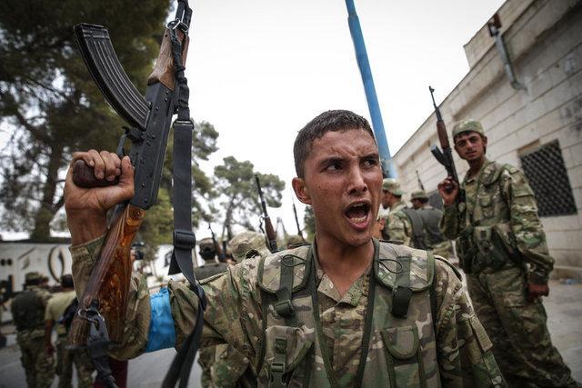 Cerablus Operasyonu 9. Gününde   İşte ÖSO'nun Suriye'deki İlerleyişi