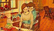 """""""Aşkın Her Hali Güzeldir, Ama En Güzeli En Basit Halleri"""" Diyen 20 Mükemmel Çizim"""