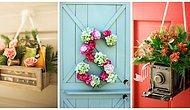 Evinizin Giriş Kapısı İçin Yapabileceğiniz Yaratıcılıkla Birleşmiş 12 Kapı Süsü