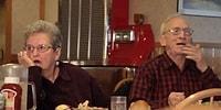 Bir Restoranın Reklam Filminde Oynayan Sevimlilik Abidesi Yaşlı Çiftin Eğlenceli Anları