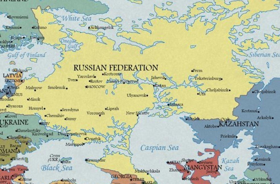 2100 Yılında Avrupa Haritası Aralarında Türkiyenin De Olduğu
