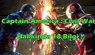 Captain America : Civil War hakkında 18 ilginç bilgi !