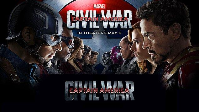 26. Kaptan Amerika: Kahramanların Savaşı / Captain America: Civil War (2016)