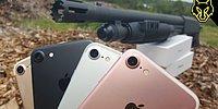 iPhone 7'ye Kombo Yapan Çılgın Youtube Kanalından Pompalı Tüfekle Kutu Açılışı
