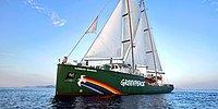 Greenpeace'in Efsane Gemisi Rainbow Warrior, #GüneşeYelkenAç Demek İçin İstanbul'da
