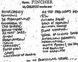 Fight Club, Se7en Gibi Efsane Filmlerin Yönetmeni David Fincher'ın 26 Favori Filmi