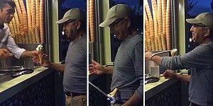 İstanbul Tatilinde Maraş Dondurmacısının Oyununa Yakalan Amerikalı Baba Fenomen Oldu!