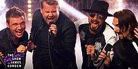 James Corden ve The Backstreet Boys'dan Muhteşem Performans