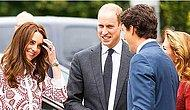 İlk Kez Kanada Başbakanını Gören Masum Prensesin Tepkisi Sosyal Medyayı Salladı!