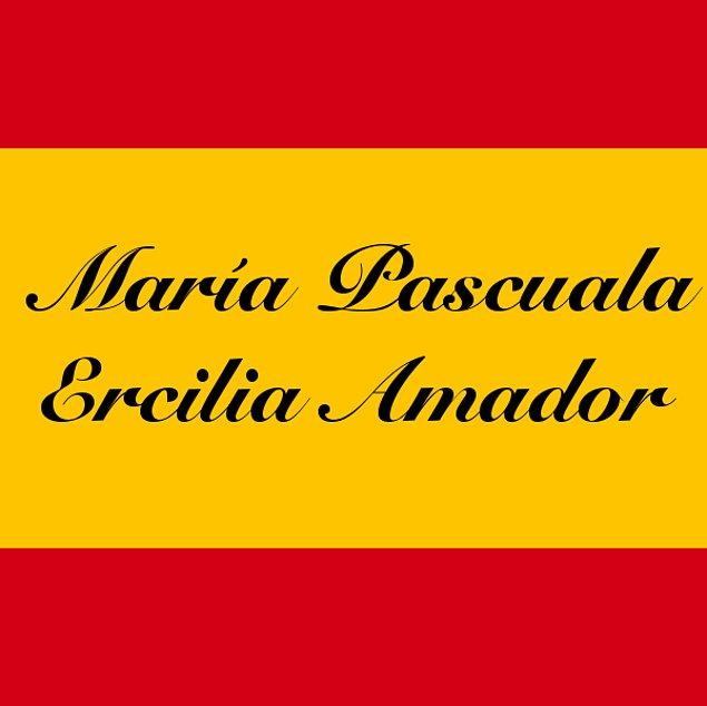 María Pascuala Ercilia Amador!