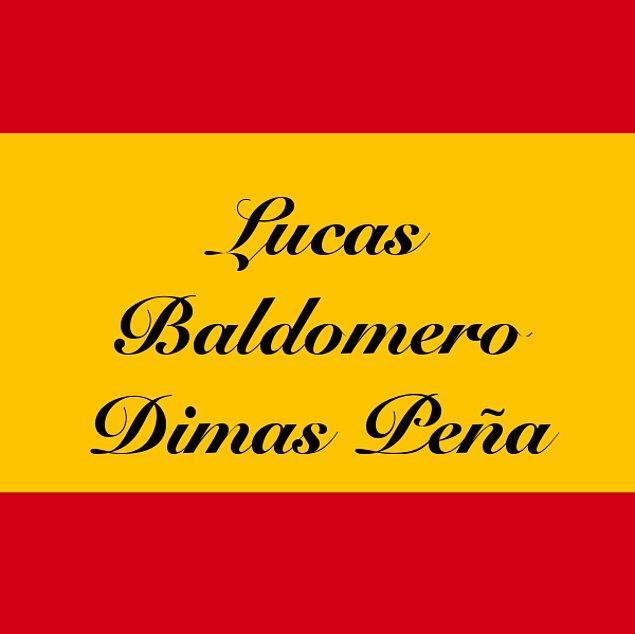 Lucas Baldomero Dimas Peña!