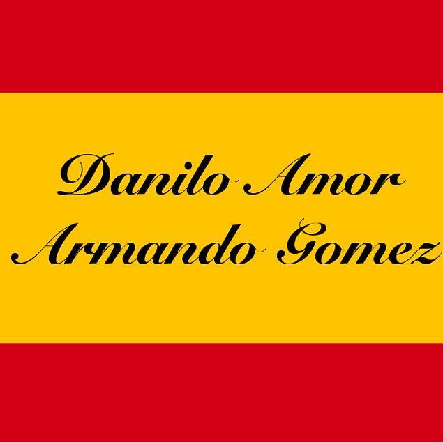 Danilo Amor Armando Gomez!