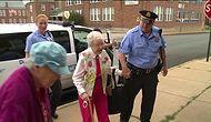 """""""Tutukla Beni!"""" Yapılacaklar Listesindeki Arzusu Gerçek Olan 102 Yaşındaki Çılgın Nine!"""