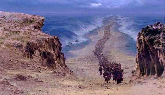 Hz. Musa aslında bir gölü ikiye bölmüştü.
