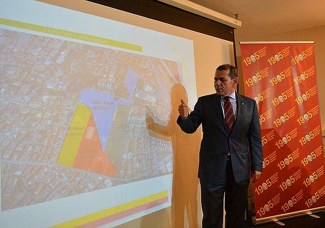 Riva ve Florya'dan Galatasaray'a 500 milyon dolar gelir