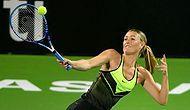 Sharapova Cezadan Sonra İlk Kez Kortta
