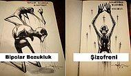 Mürekkep ve Sanatı Buluşturan Inktober'dan Psikolojik Rahatsızlıkları Resimleyen 17 Çizim