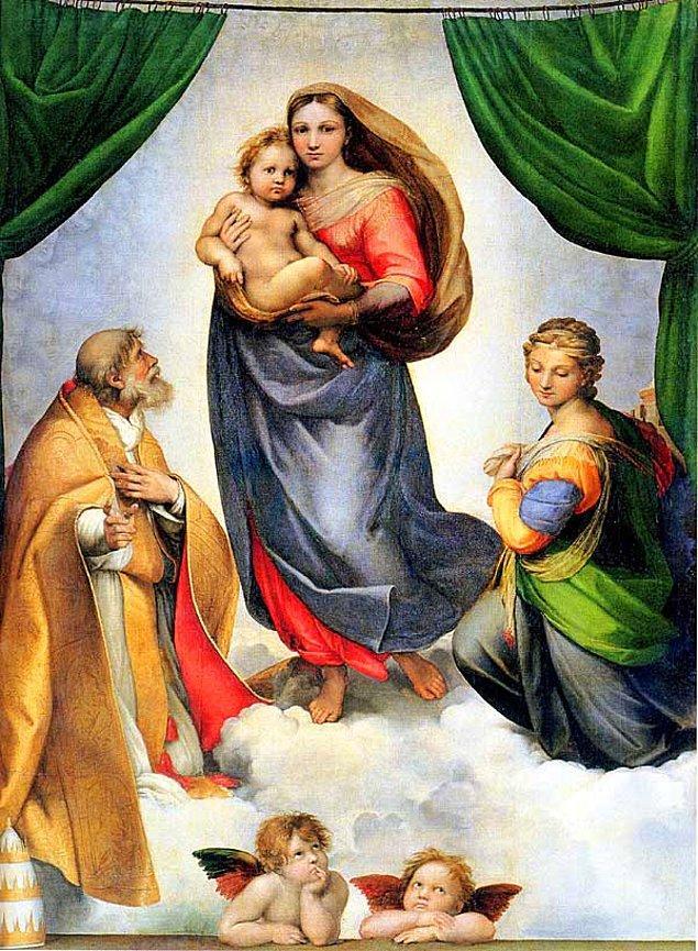 "1. ""The Sistine Madonna"", Raphael"