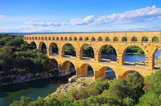 Pont du Gard - Fransa
