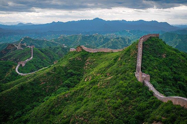 2. Çin Seddi - Çin