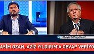"""Aziz Yıldırım - Rasim Ozan Kütahyalı Tartışması Alevlendi! Rasim Ozan, Aziz Yıldırım'ı """"MİT Antetli Dosya"""" ile Tehdit Etti"""