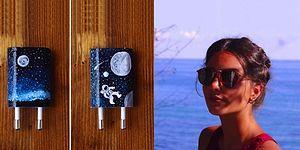 iPhone Şarjlarını Oje ile Muhteşem Sanat Eserlerine Çeviren Deniz Akmehmet ile Tanışın!