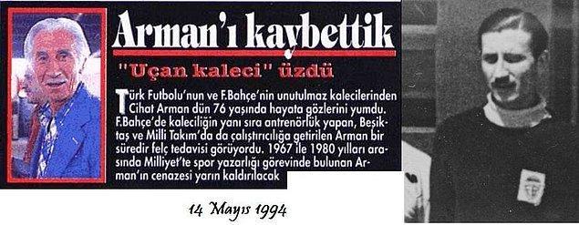 Ve kanarya ifadesi kalıplaşır, zamanla Fenerbahçe'nin simgesi haline gelir.