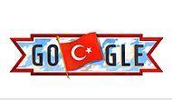 Google 29 Ekim'i Unutmadı: Cumhuriyet Bayramı'na Özel Doodle