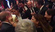 Kibariye, 29 Ekim Resepsiyonunda Cumhurbaşkanı Erdoğan'ın Yanağından Makas Aldı