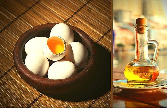 5. Yumurta ve yağ sadece tavada birleşmiyor!