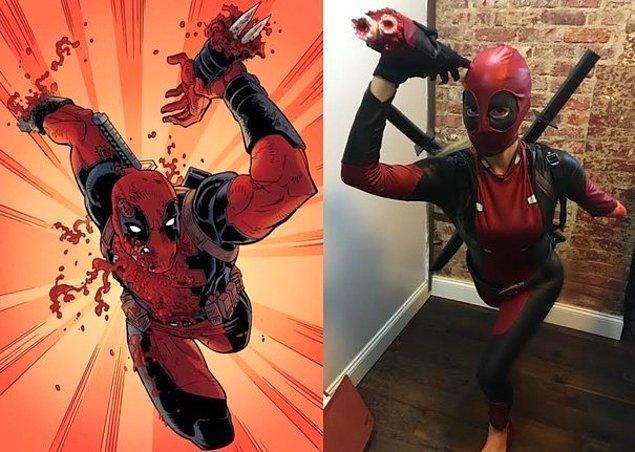 3. Kesinlikle Muhteşem Bir Deadpool Kostümü