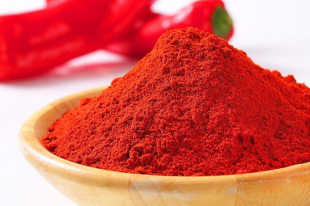 5. Chili Powder (ABD) ile acı biberler ortaya çıkıyor, dilinize hakim olun :)