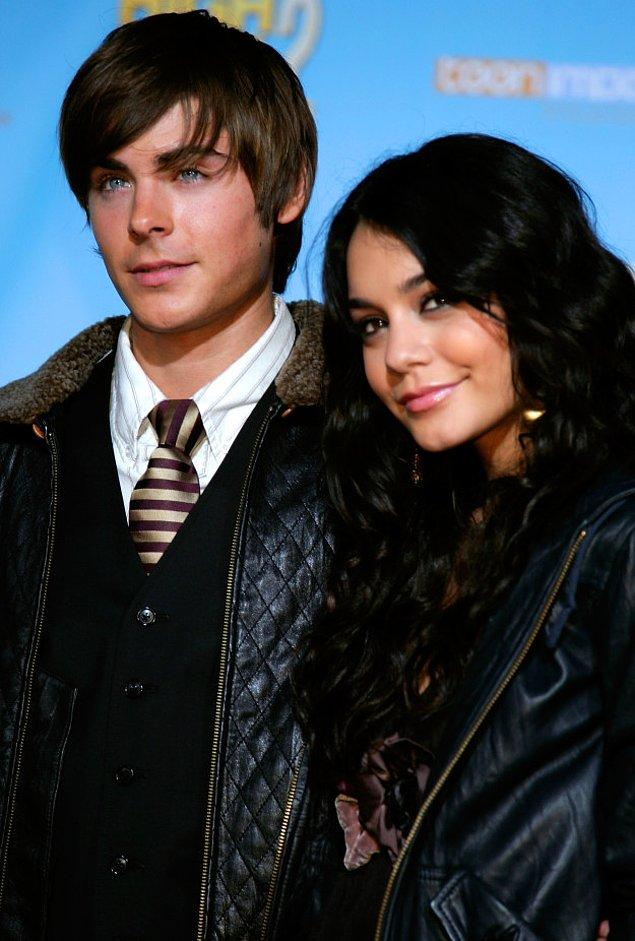 16. Zac Efron ve Vanessa Hudgens, bütün ergenlerin en ideal çiftiydi.