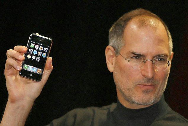 22. Ve son olarak, ilk Iphone piyasaya sürüldü.