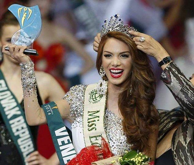 24 yaşındaki model, Miss Earth 2014'te derece almış tescilli bir güzel.
