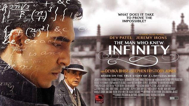 1. Sonsuzluk Teorisi / The Man Who Knew Infinity (2015)