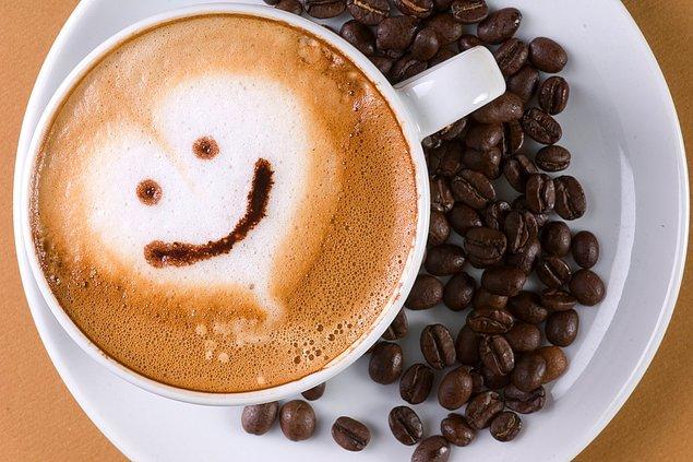 8. Size bir güzel haberimiz daha var, kahve severleri böyle alalım.