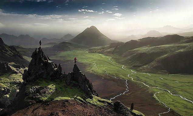 8. İzlanda dağları