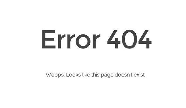 29. 404 Not Found