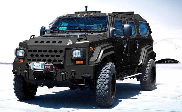 6. J.R. Smith - Askeri araç