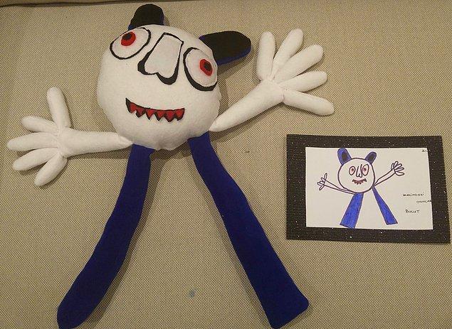 Öğrencilerinden hayallerindeki oyuncağı çizmelerini istemiş Sezen Karazincir.