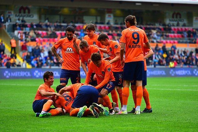 Başakşehir aynı zamanda rakip ağları 10 maçta 24 kez sarsarak en çok gol atan takım oldu.