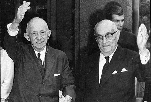 İsmet İnönü'nün Başbakanlıktan İstifa Etmesi ve Yerine Celal Bayar'ın Geçmesi - 25 Ekim 1937