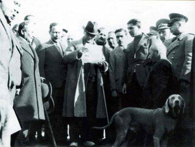 12. Aşağıdakilerden hangisi Atatürk'ün köpeğinini adıdır?