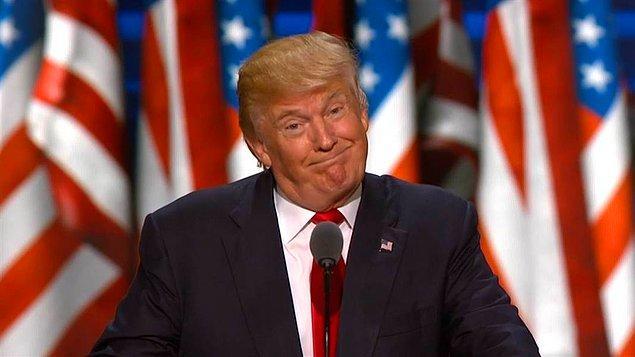 Donald Trump, Hillary Clinton'dan daha fazla kilit eyalet kazanmayı başardı.