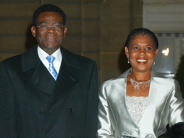 5. Düşmanının etini yemekle suçlanan Ekvator Ginesi cumhurbaşkanı Teodoro Obiang Nguema Mbasogo'nın eşi Constancia Mangue